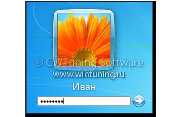 Безопасный вход в систему  Windows 7  Впечатления и факты